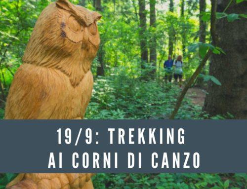 19/9 Trekking ai Corni di Canzo